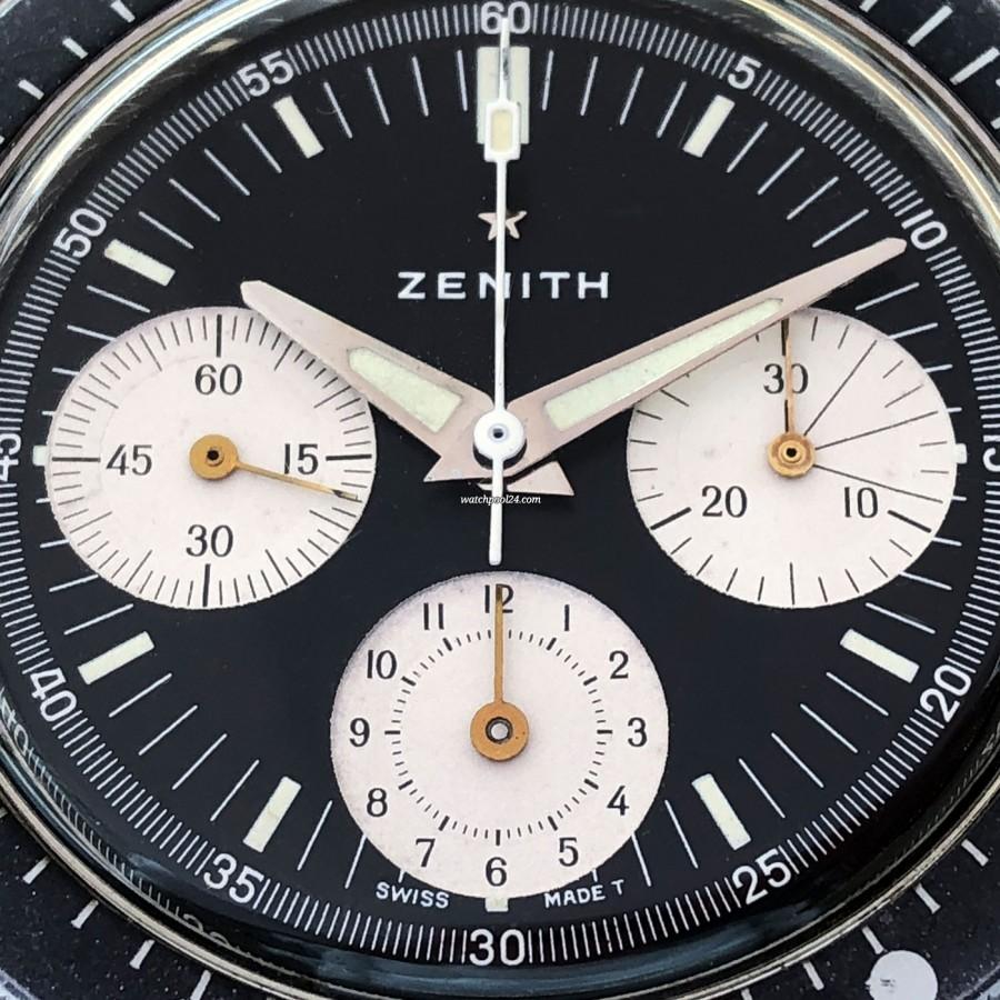 Zenith A277 Diver - Reverse-Panda-Zifferblatt