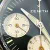 Zenith A277 Diver - tritium lume has the matching greenish tone in hands and hour markers