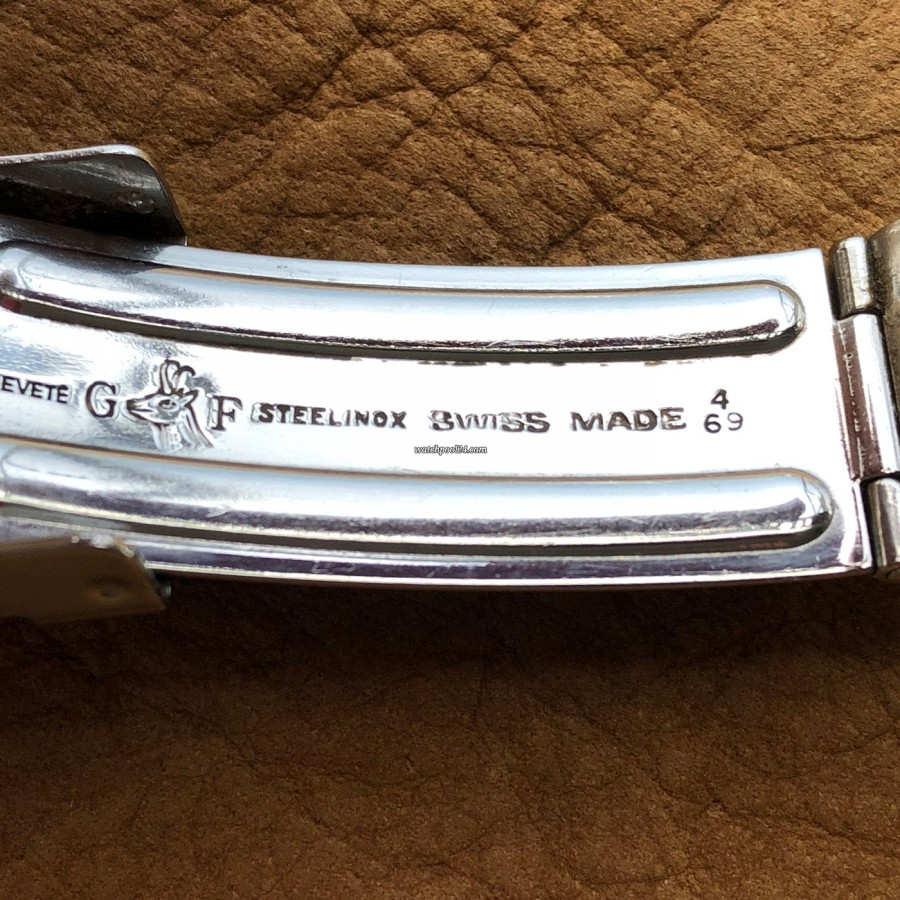 Zenith A277 Diver - clasp stamped 4/69 (4th quarter 1969)