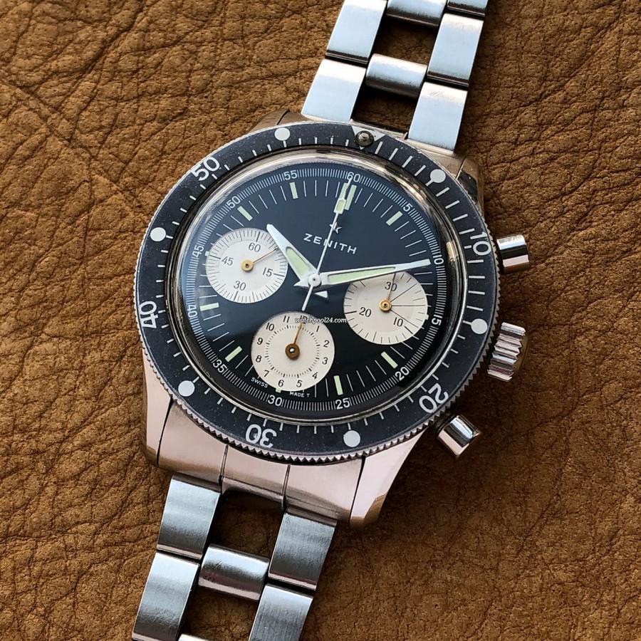 Zenith A277 Diver - wunderschöner Vintage Chronograph
