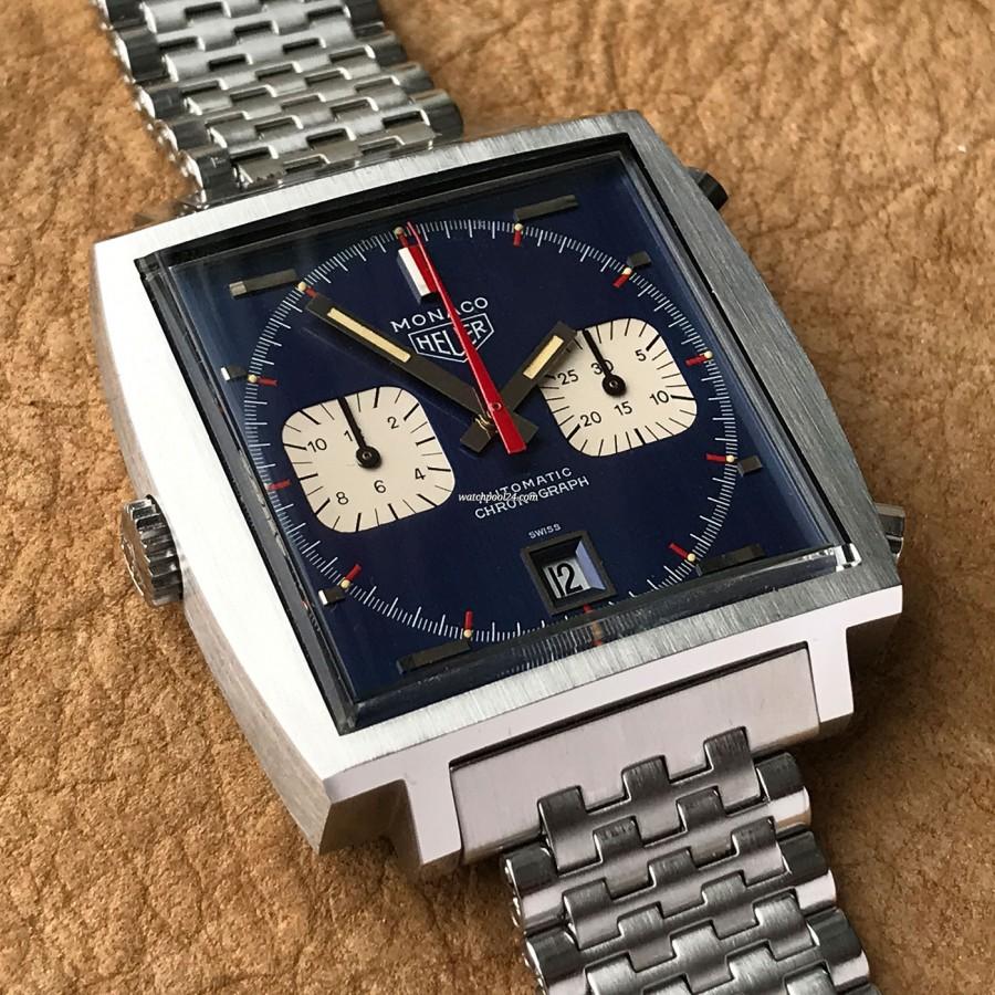 Heuer Monaco 1133B Transitional NOS - eine Uhren-Ikone in außergewöhnlichem Zustand