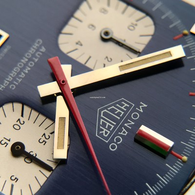 Heuer Monaco 1133B Transitional NOS