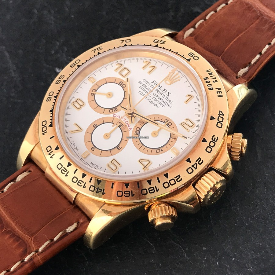 Rolex Daytona 16518 Full Set - beautiful watch and a coveted collector's item