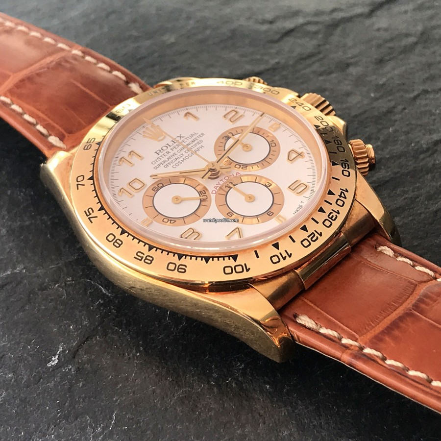 Rolex Daytona 16518 Full Set - 18k yellow gold case