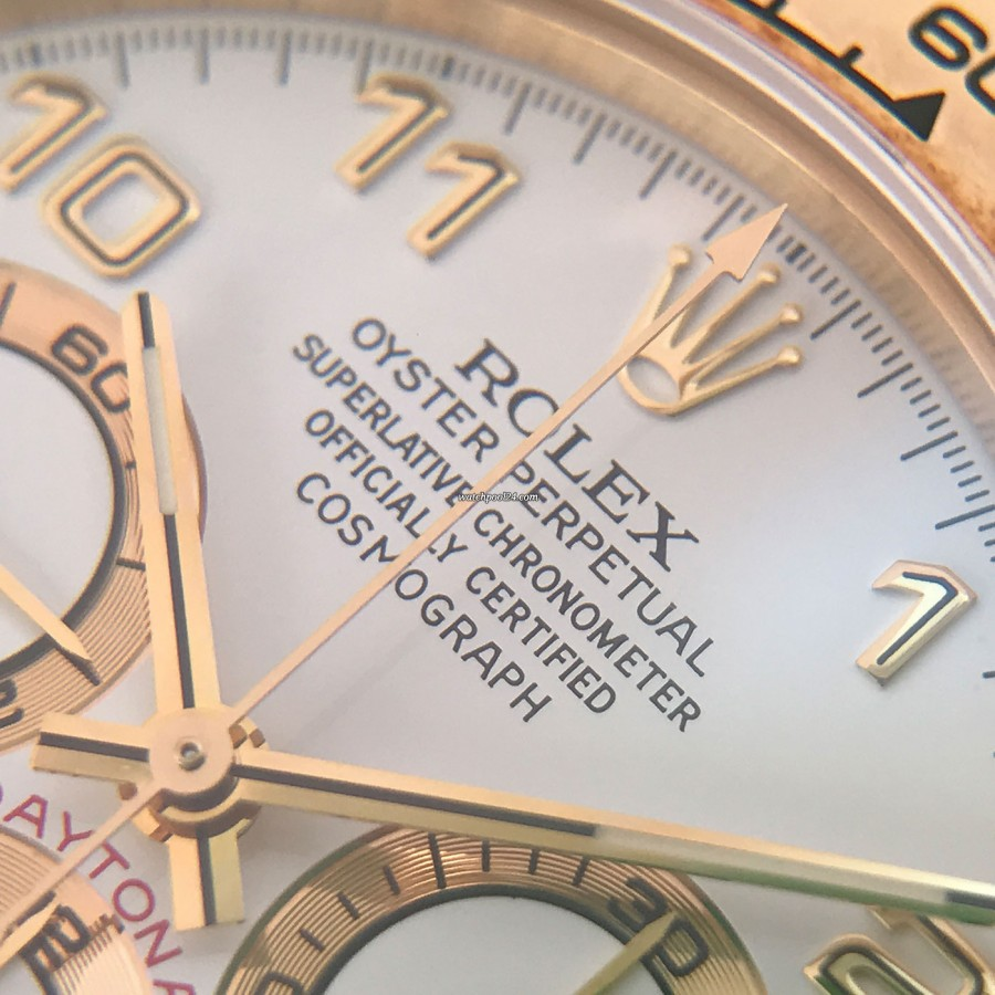 Rolex Daytona 16518 Full Set - Oyster Perpetual Superlative Chronometer Officially Certified Cosmograph
