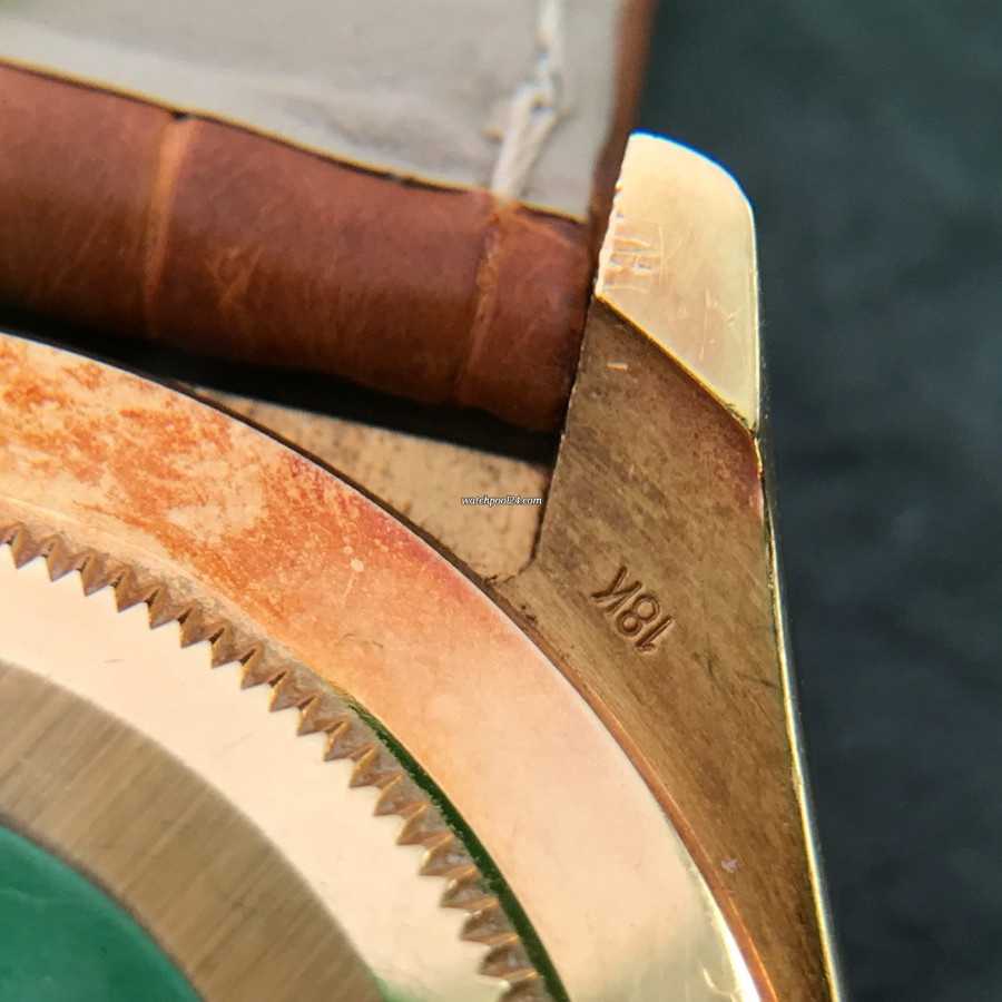 Rolex Daytona 16518 Full Set - 18k Gelbgold Stempel