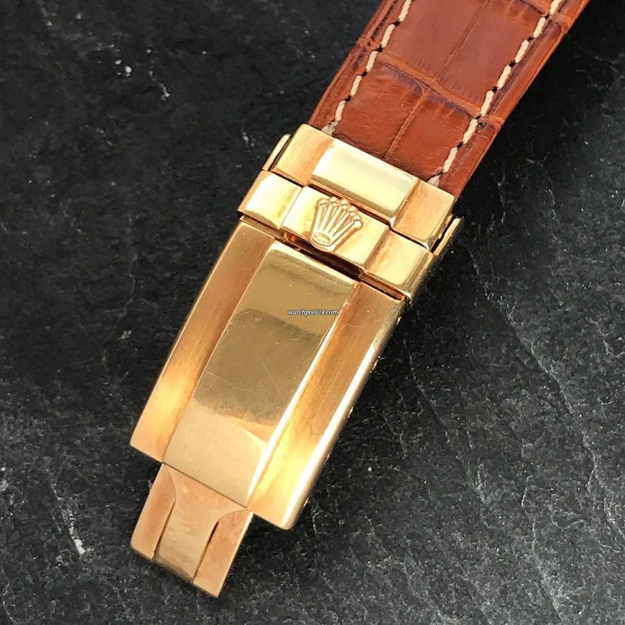 Rolex Daytona 16518 Full Set - Rolex Gelbgold-Faltschließe