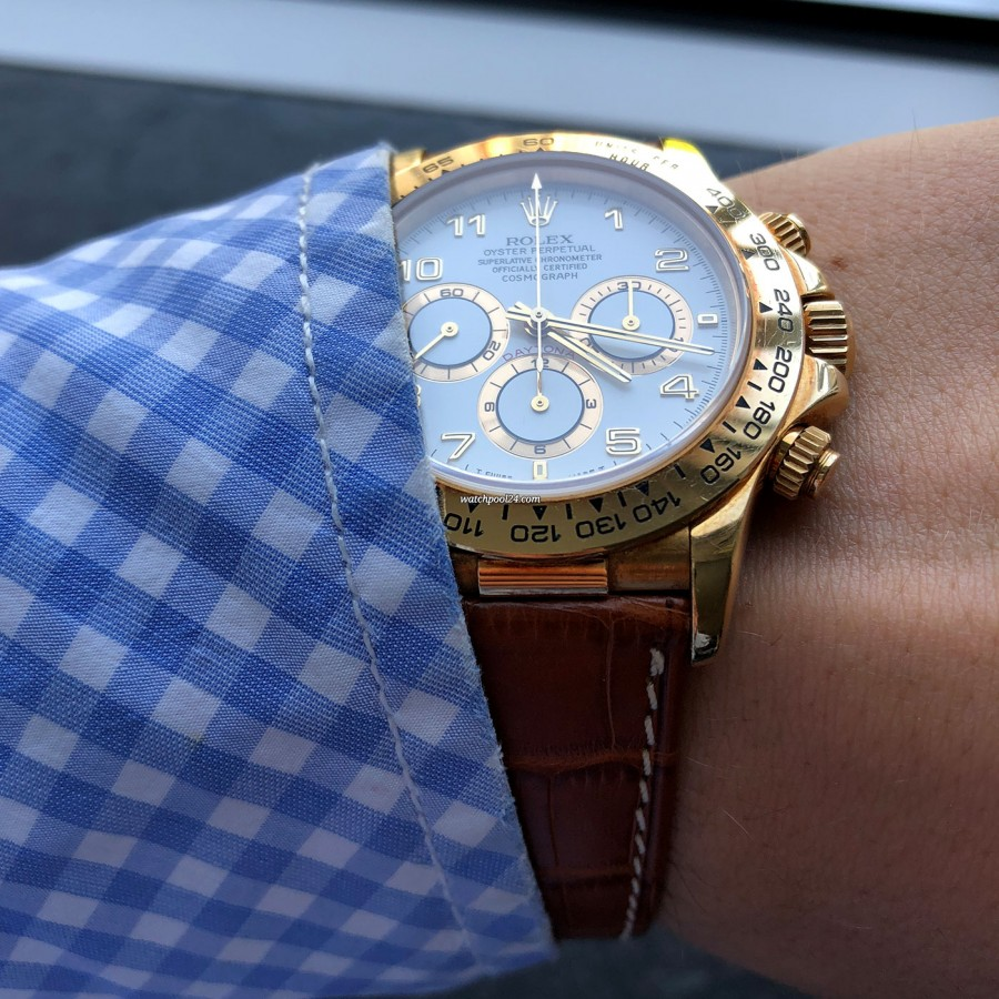 Rolex Daytona 16518 Full Set - comfortable on the wrist
