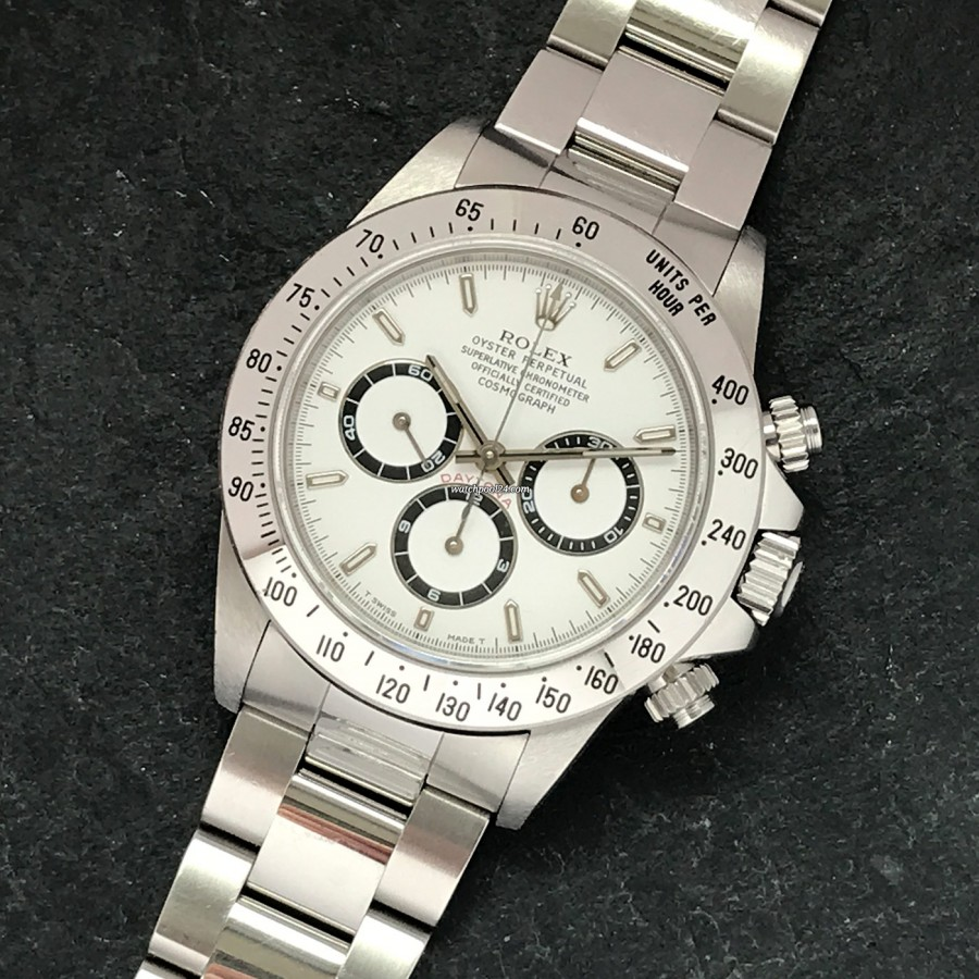 Rolex Daytona 16520 Full Set - LC100 - 'Zenith'-Daytona -  a sought-after collector's watch