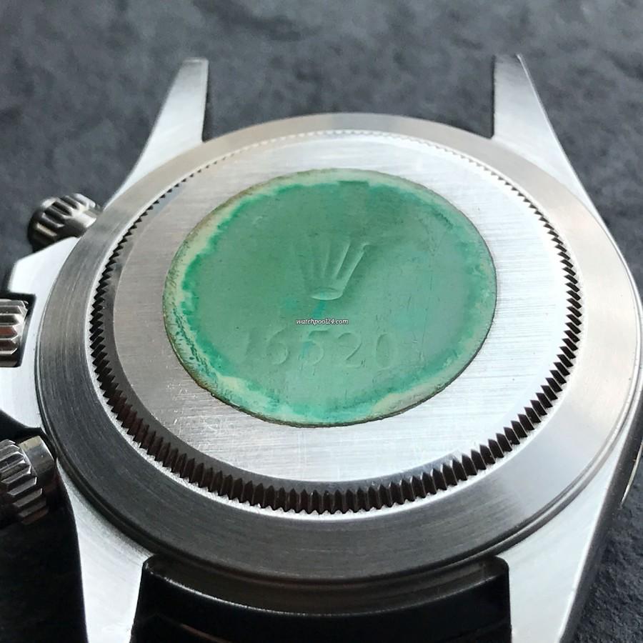 Rolex Daytona 16520 Full Set - LC100 - green Rolex-hologram on the case back