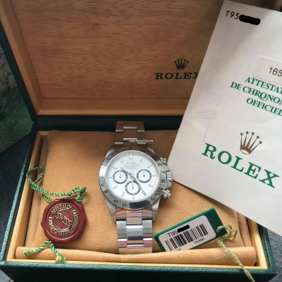 Rolex Daytona 16520 Full Set - LC100