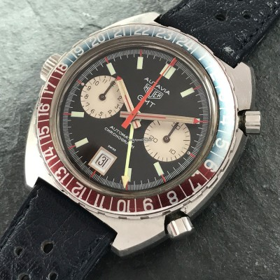 Heuer Autavia 1163 GMT Early MK1