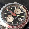 Heuer Autavia 1163 GMT Early MK1 - black dial, white sub dials