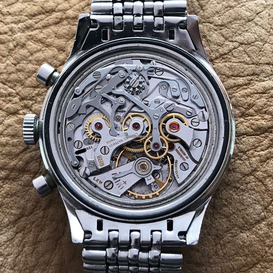 Longines Diver Chronograph 7981-1 Big Eye Tropical - Uhrwerk Kaliber 30CH von Longines