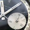Longines Diver Chronograph 7981-1 Big Eye Tropical - Feuille-Zeiger (Laubblatt-Zeiger) passend zur MK1 Ausführung