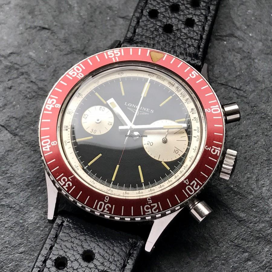 Longines Diver Chronograph 7981-3 Big Eye - Chronograph-Ikone mit wunderschönem Design