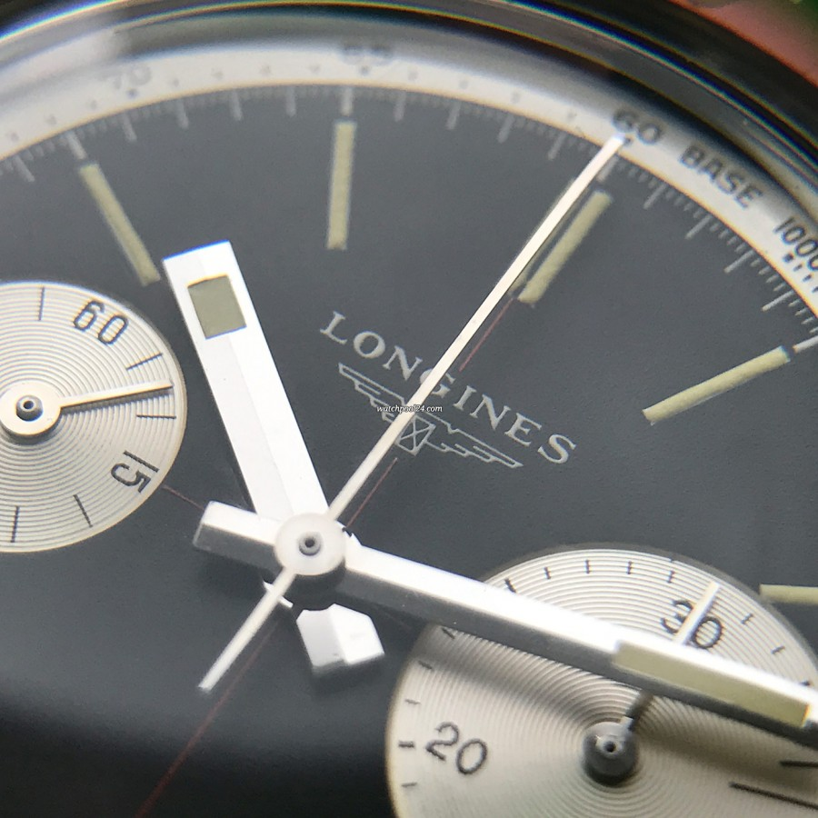 Longines Diver Chronograph 7981-3 Big Eye - LONGINES