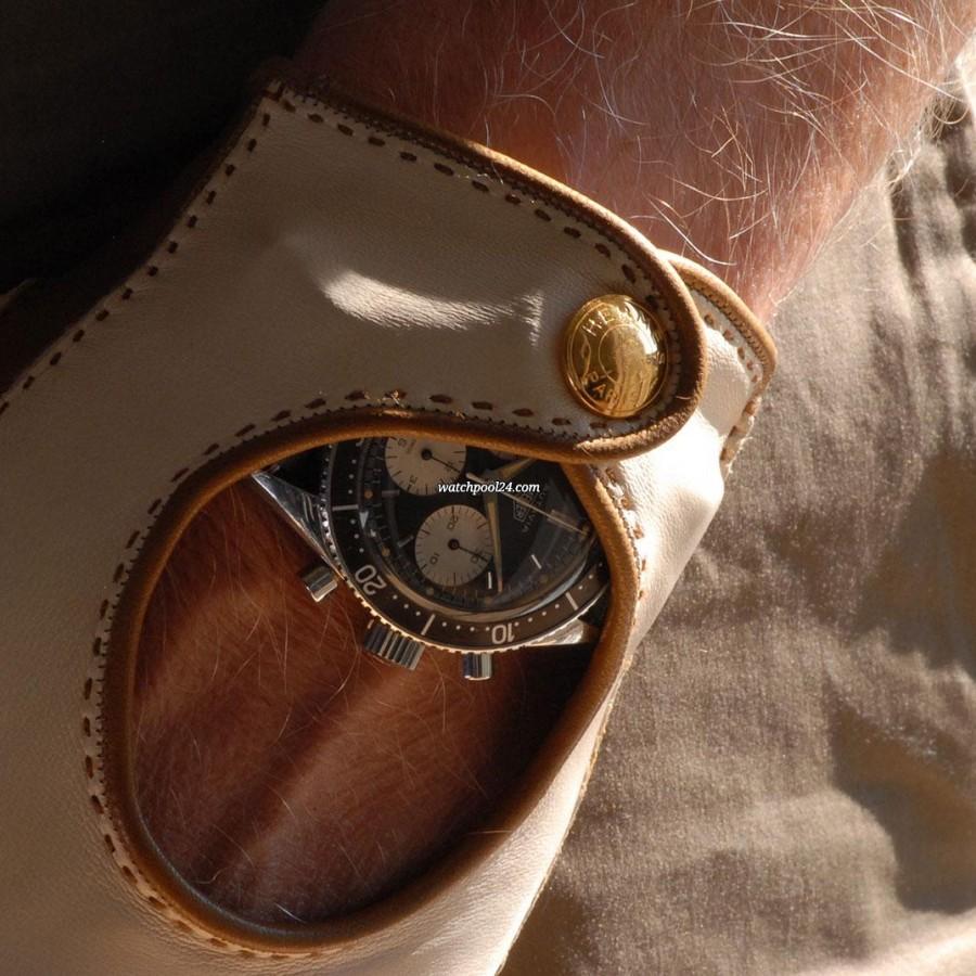 Heuer Autavia 2446 2nd Execution Dial - beautiful on the wrist