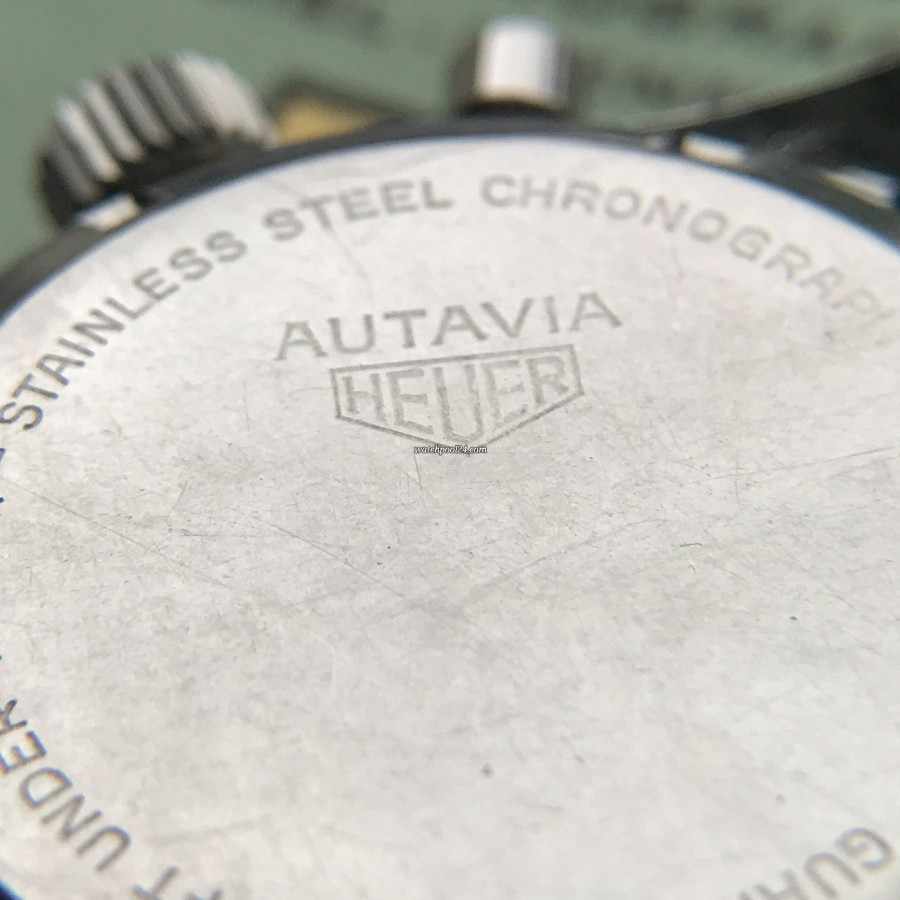 Heuer Autavia 2446 2nd Execution Dial