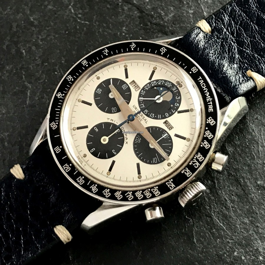 Universal Genève Tri-Compax 881101/01 Eric Clapton - MK1 - iconic chronograph with stunning design and complicated features