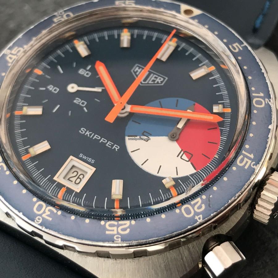 Heuer Skipper 73464 - blue dial