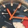 Heuer Skipper 73464 - orangene Zeiger