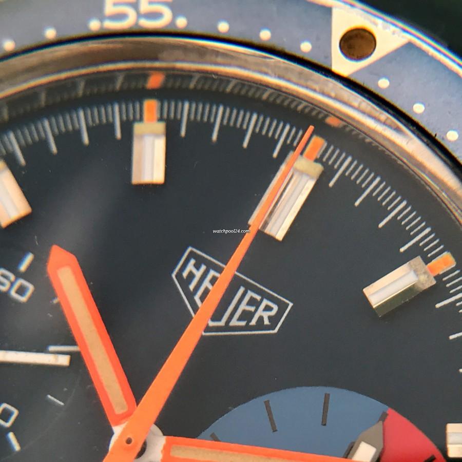Heuer Skipper 73464 - coole sportliche Uhr