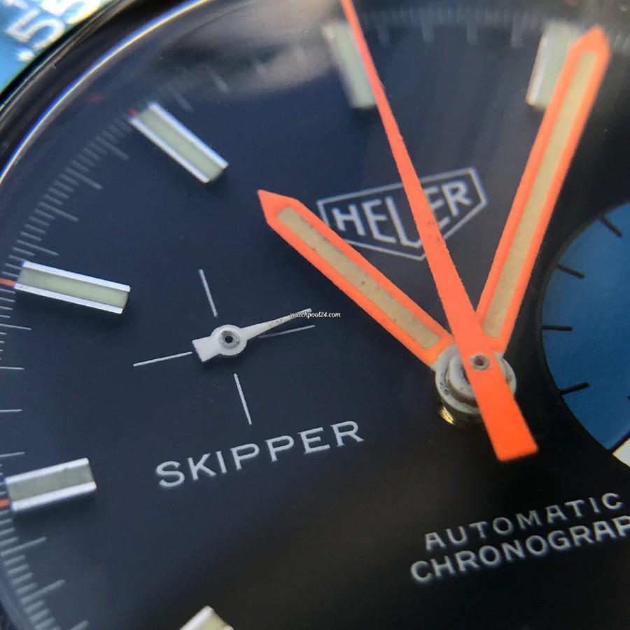 Heuer Skipper 1564 - small second