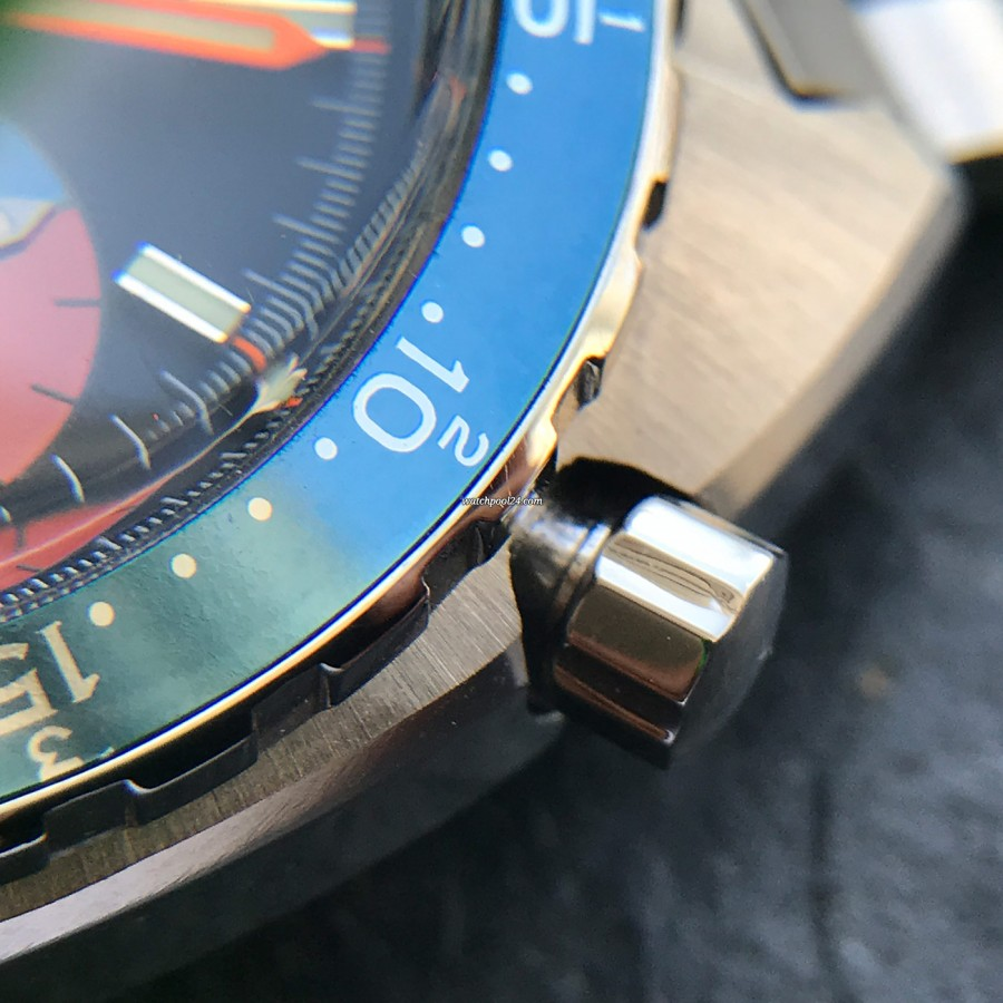 Heuer Skipper 1564 - in love with the details - perfect chrono pusher