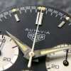 Heuer Autavia 2446 2nd Execution Dial - matte black dial, dauphine hands