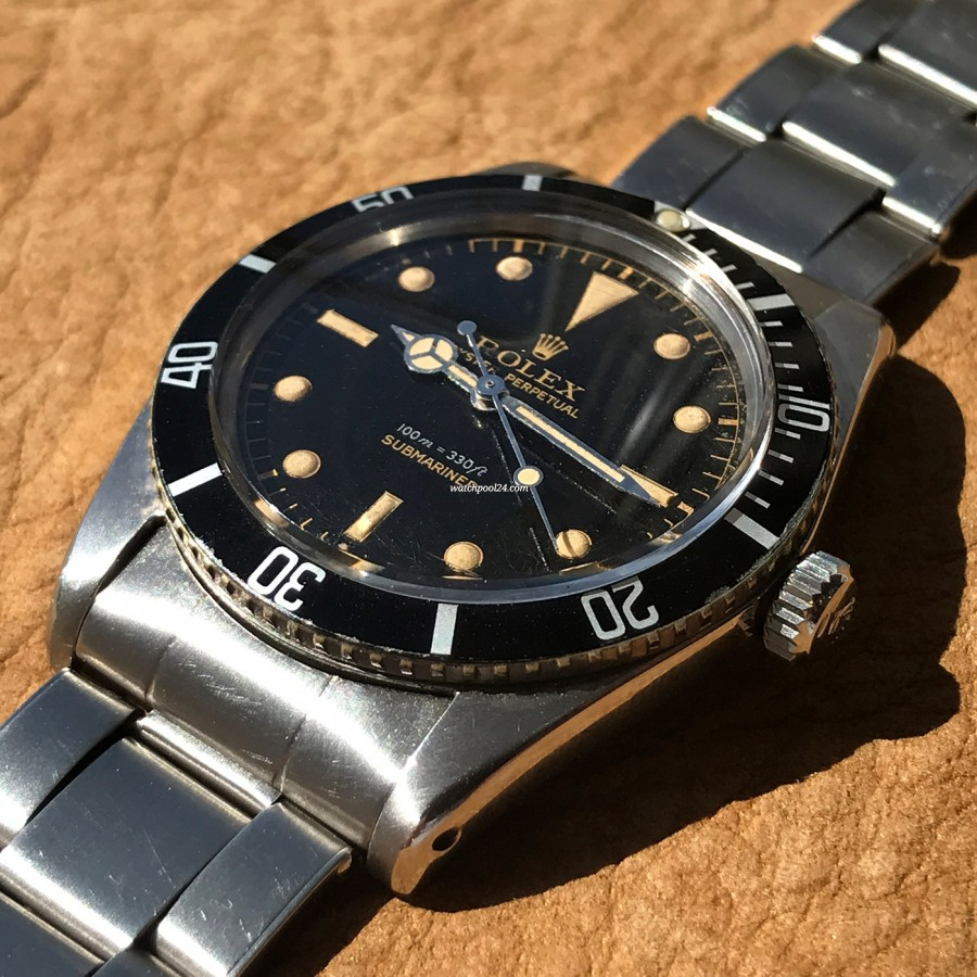 Rolex Submariner 5508 James Bond - authentic Oyster case