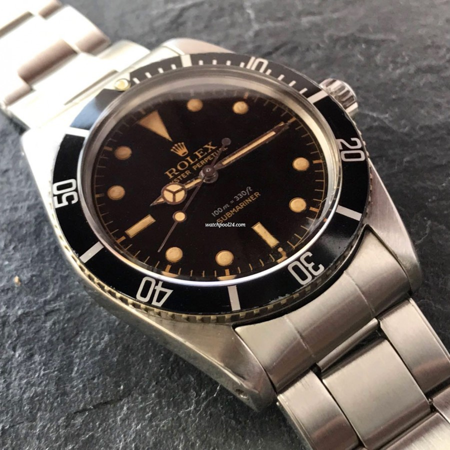 Rolex Submariner 5508 James Bond - a truly vintage look