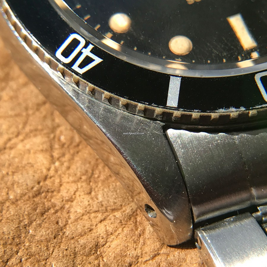 Rolex Submariner 5508 James Bond - a closer look at the case lug