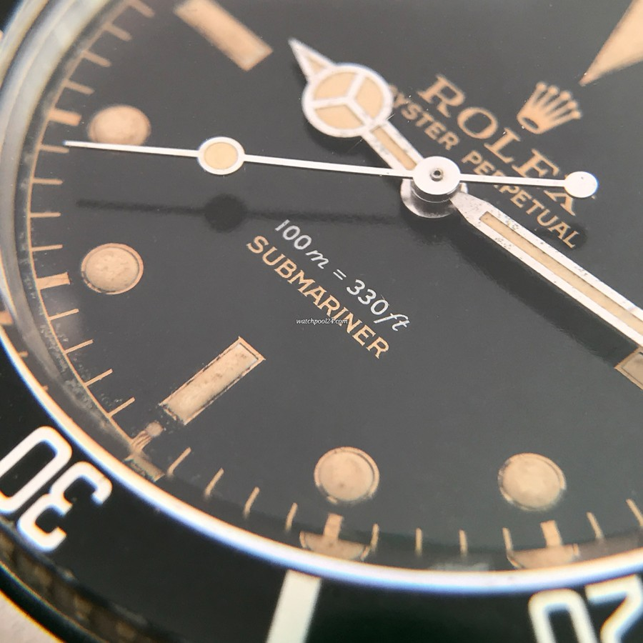 Rolex Submariner 5508 James Bond - patinated lume, lollipop second hand