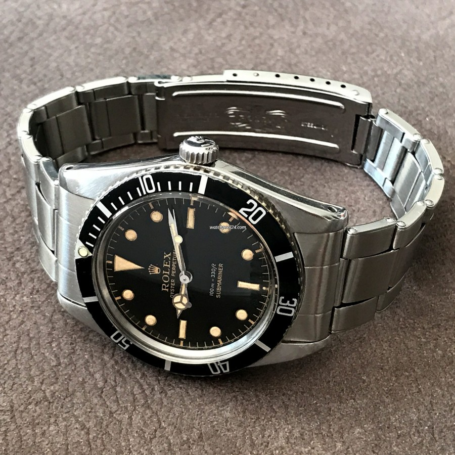 Rolex Submariner 5508 James Bond - an exceptional watch