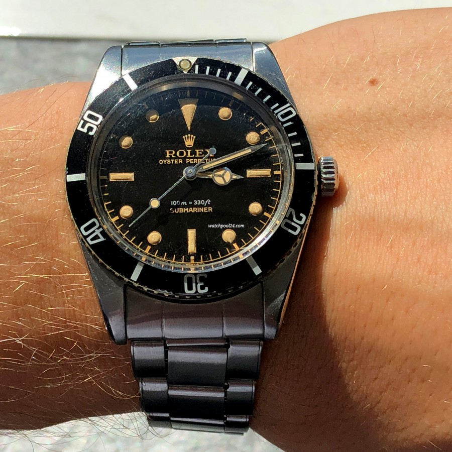 Rolex Submariner 5508 James Bond - this watch looks amazing on the wrist