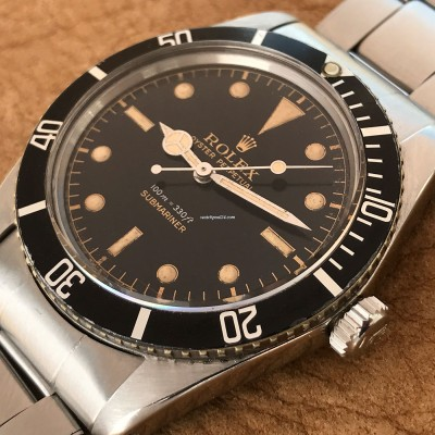 Rolex Submariner 5508 James Bond