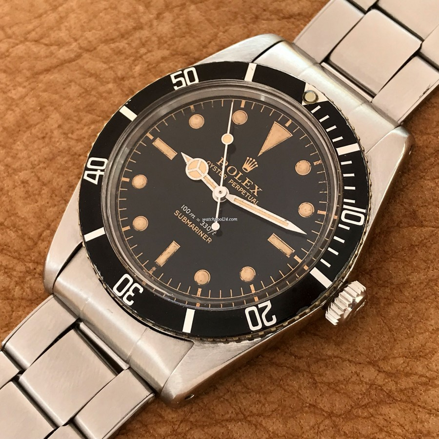 Rolex Submariner 5508 James Bond - rotating bezel in great condition