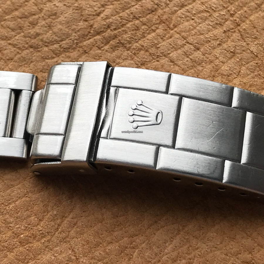 Rolex Submariner 5513 Punched Papers - originale Rolex-Schließe