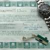 Rolex Submariner 5513 Punched Papers - gelochte Papiere und signierter Anhänger
