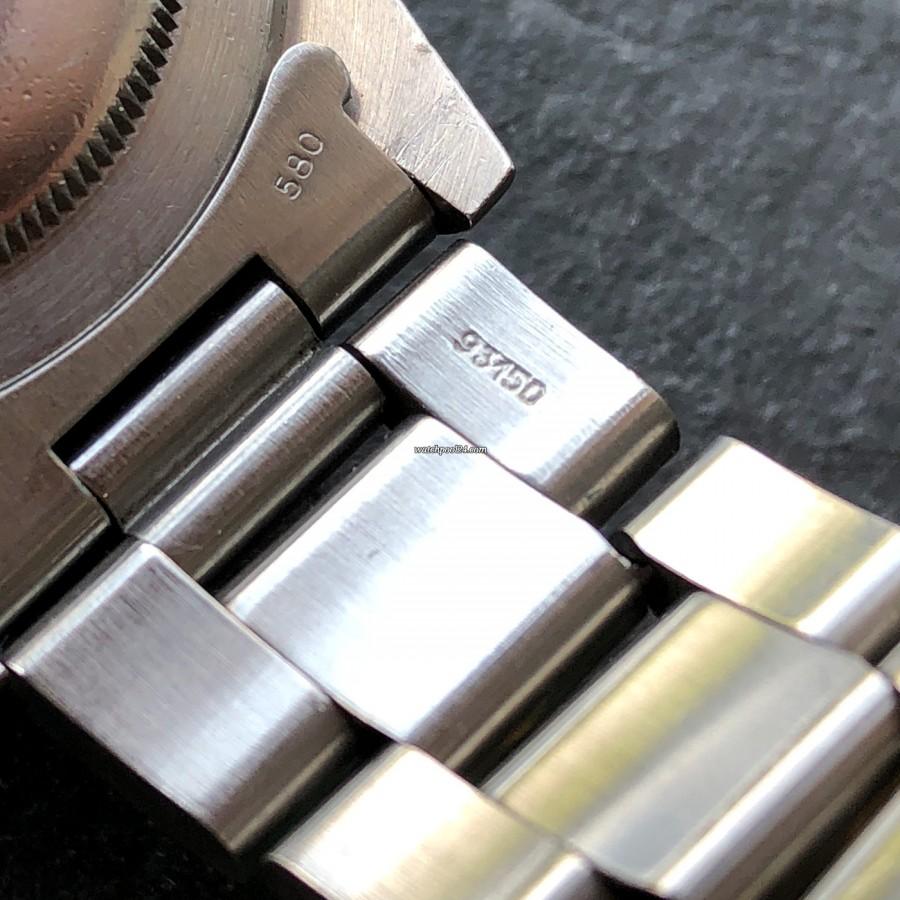 Rolex Submariner 5513 Punched Papers - Oyster-Armband mit der Referenz 93150 und End Stücken 580