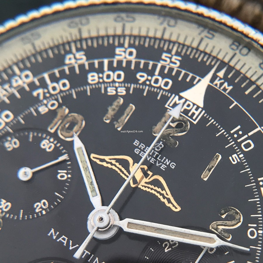 Breitling Navitimer 806 - beautiful patina in the hour numbers