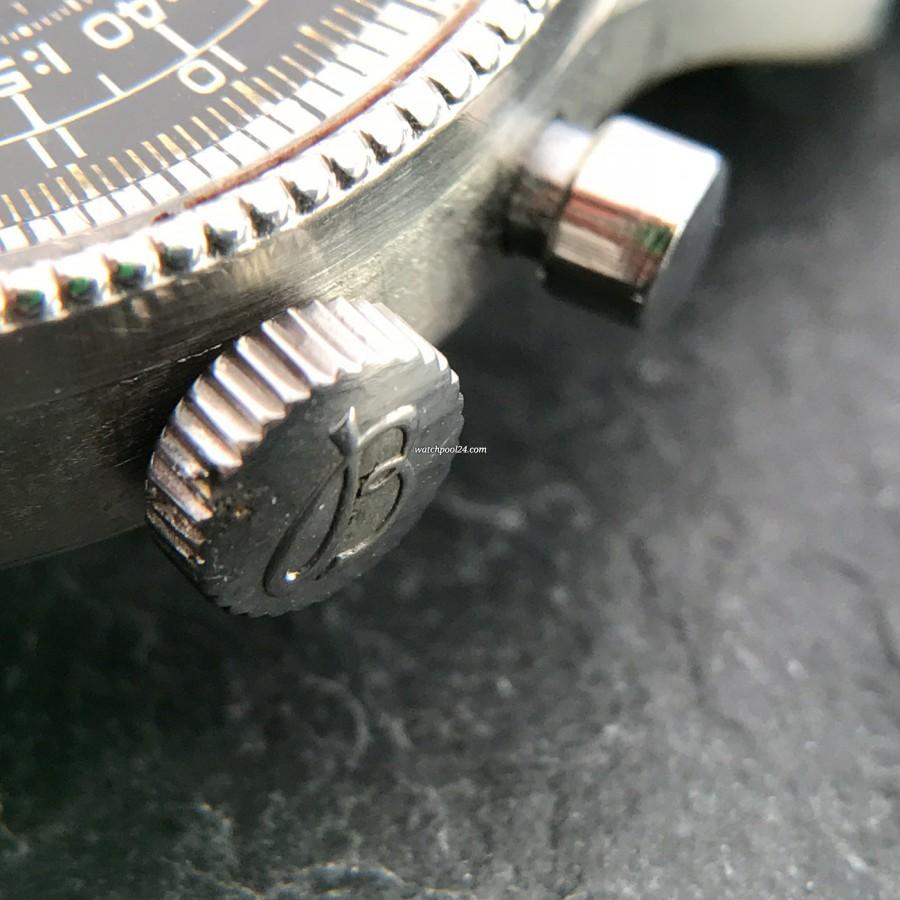Breitling Navitimer 806 - mit dem Breitling-Logo signierte Krone