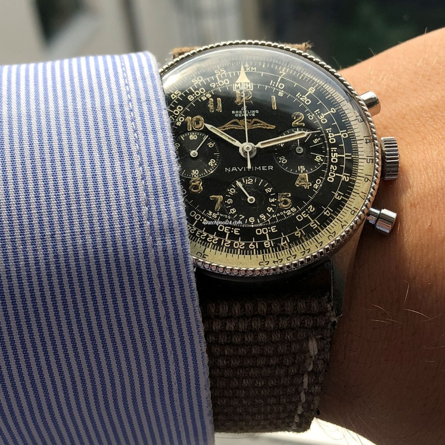 Breitling Navitimer 806 - pure vintage on the wrist
