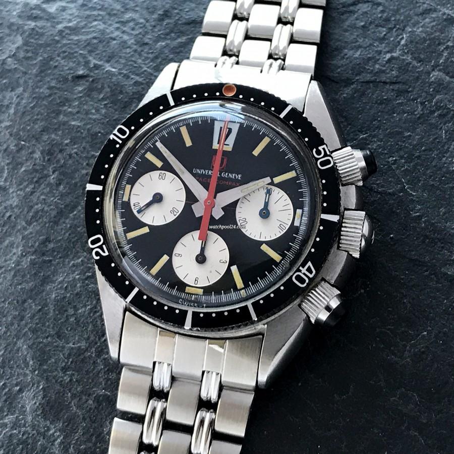 Universal Genève Space-Compax 885104/01 - MK1 - sportliche Luxusuhr mit schöner Ästhetik, genauer Technik und historischer Relevanz
