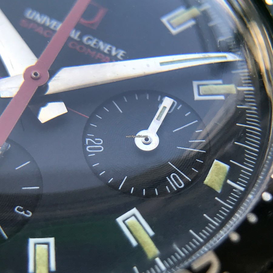 Universal Genève Space-Compax 885104/02 - MK2 - chronograph minute counter