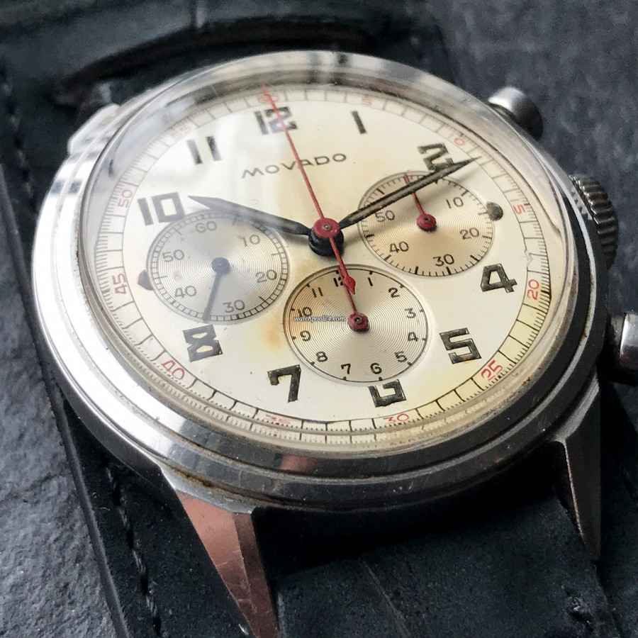 Movado M95 Chronograph 19038 - beautiful case design