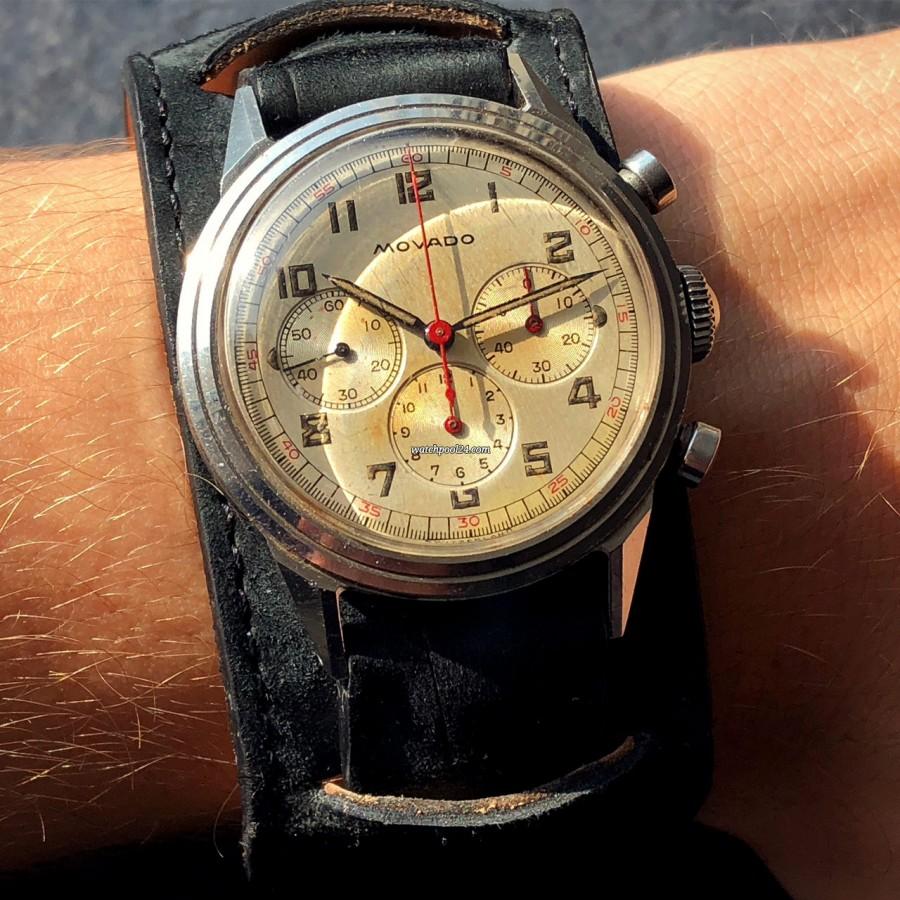Movado M95 Chronograph 19038 - cool vintage chronograph