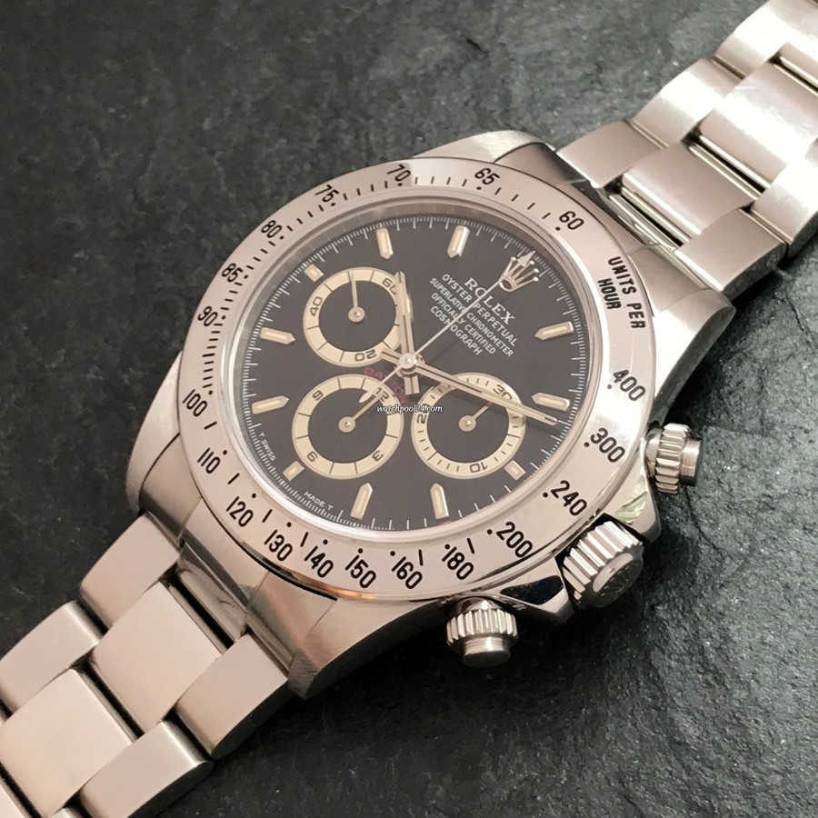 Rolex Daytona 16520 NOS Full Set - beautiful design of the dial