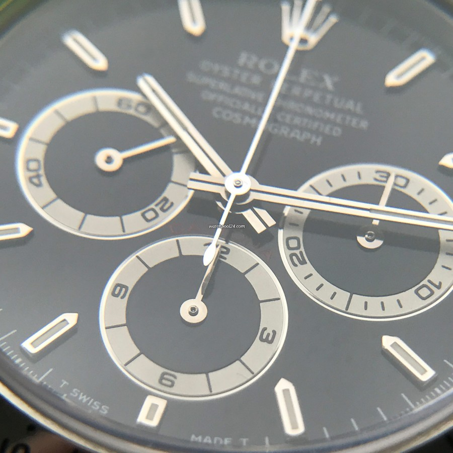 Rolex Daytona 16520 NOS Full Set - sub dials with white rings